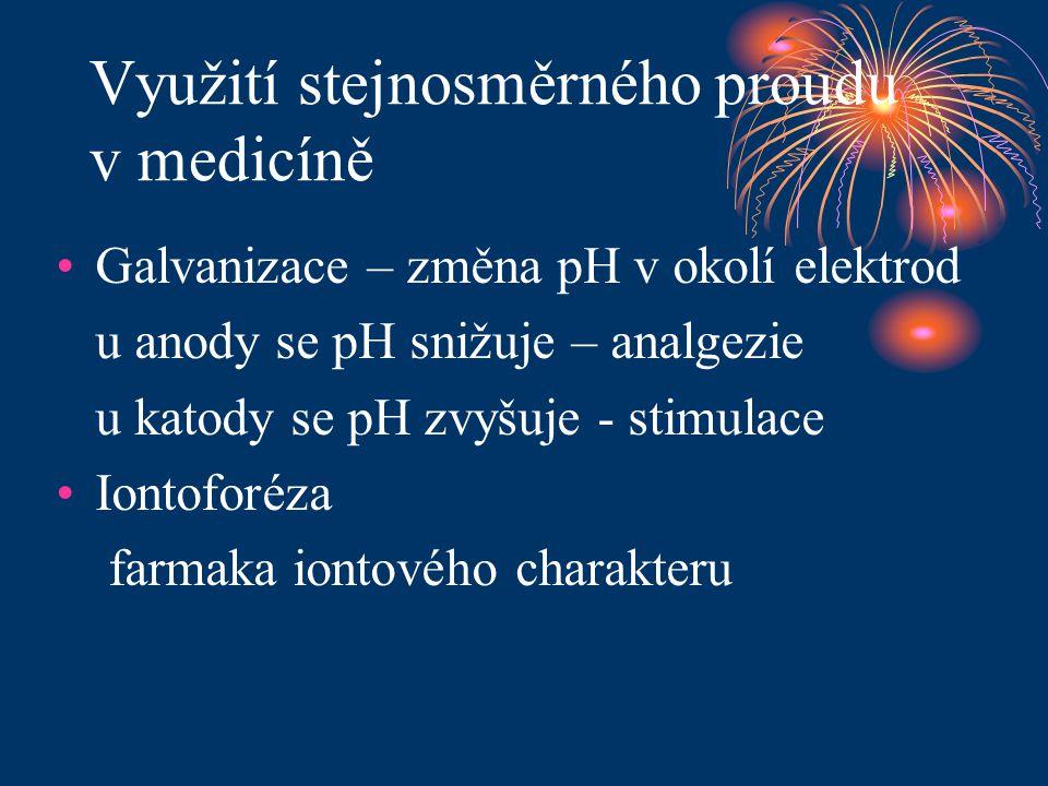 Využití stejnosměrného proudu v medicíně