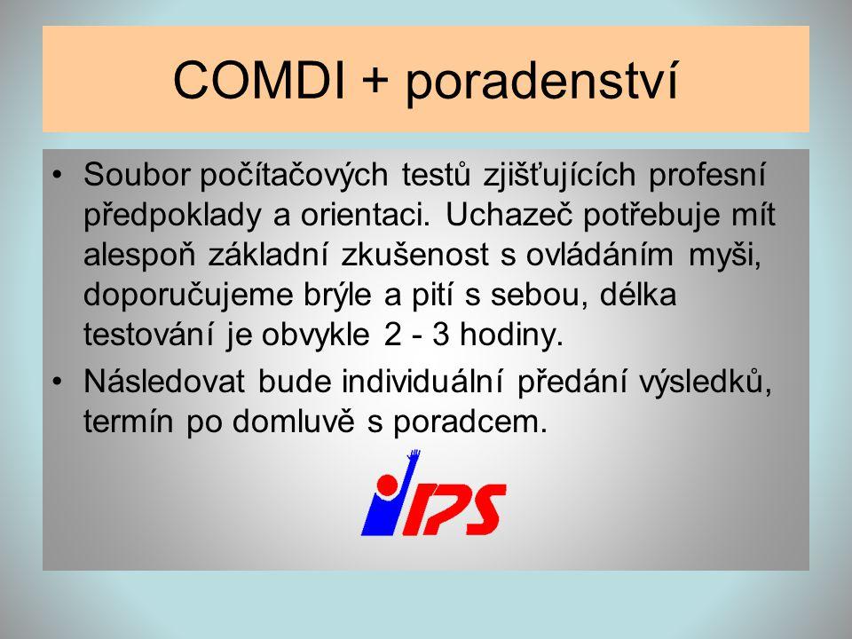 COMDI + poradenství