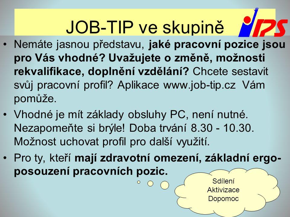 JOB-TIP ve skupině