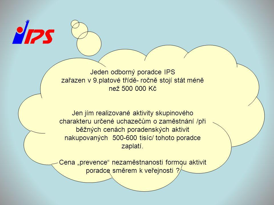 Jeden odborný poradce IPS