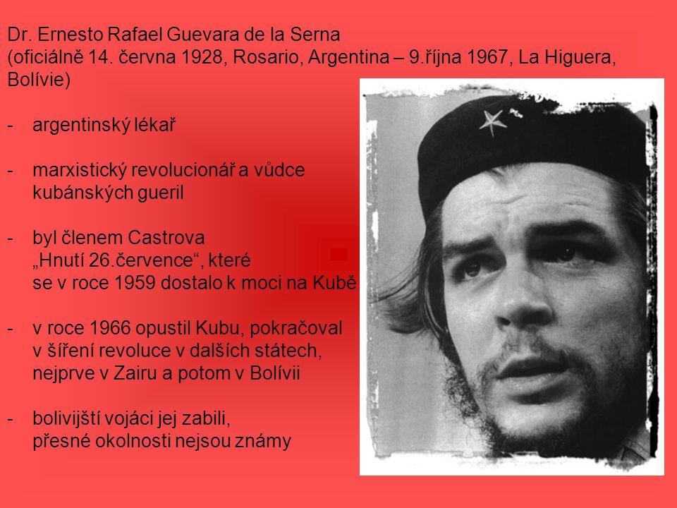 Dr. Ernesto Rafael Guevara de la Serna