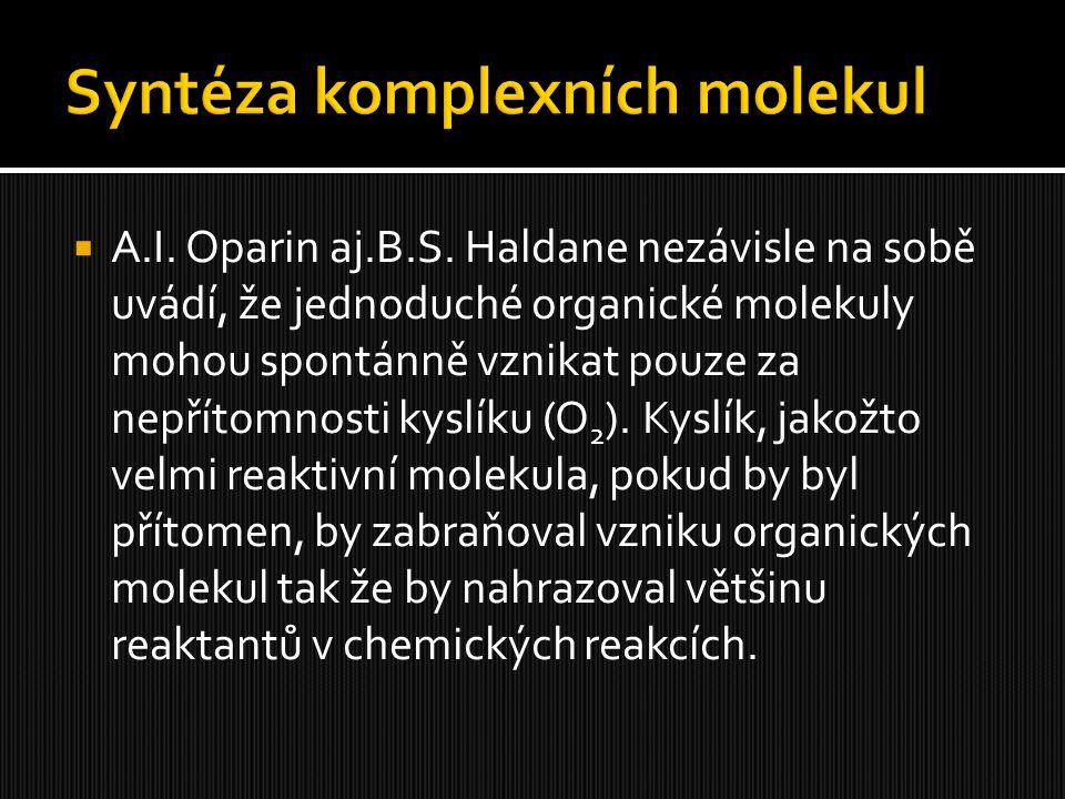 Syntéza komplexních molekul