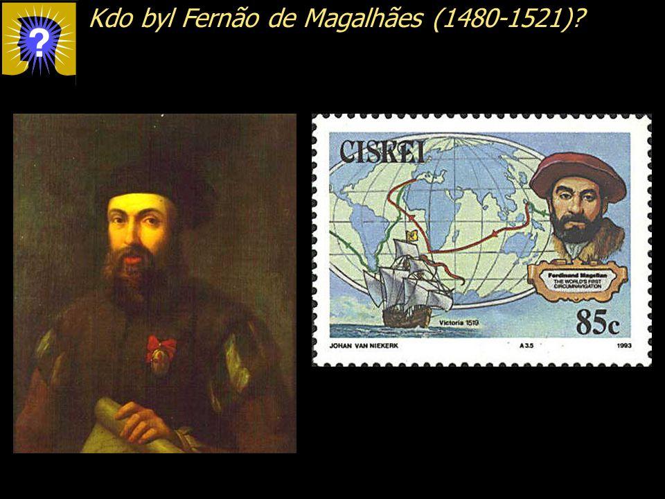 Kdo byl Fernão de Magalhães (1480-1521)