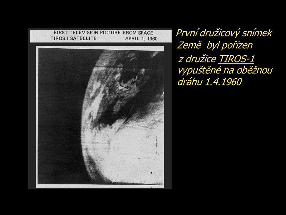 První družicový snímek Země byl pořízen