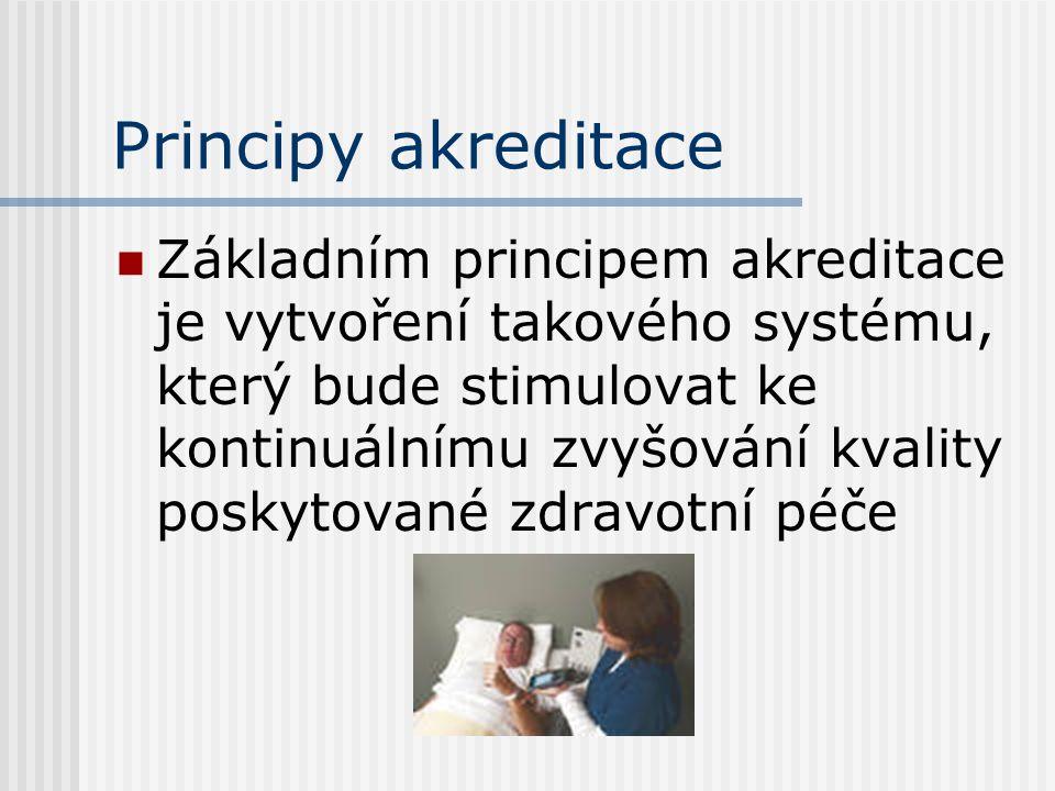 Principy akreditace