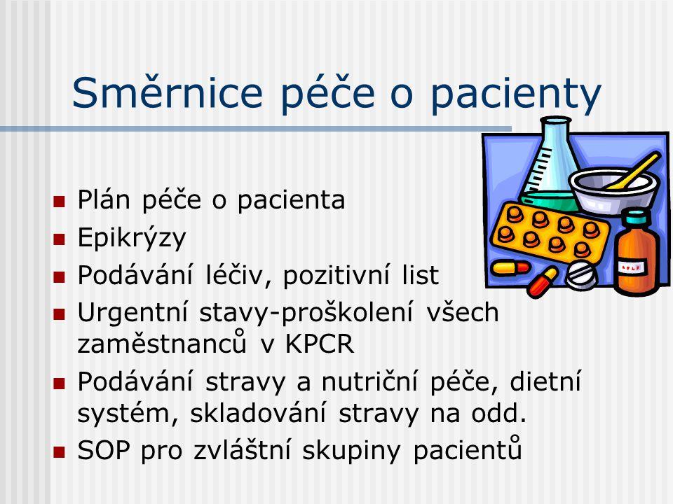Směrnice péče o pacienty