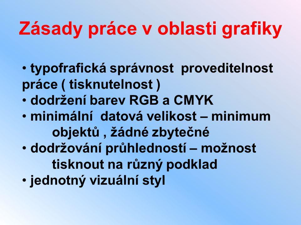 Zásady práce v oblasti grafiky