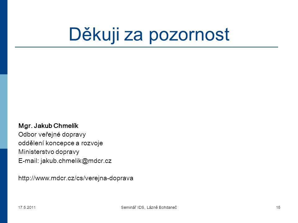 Seminář IDS, Lázně Bohdaneč