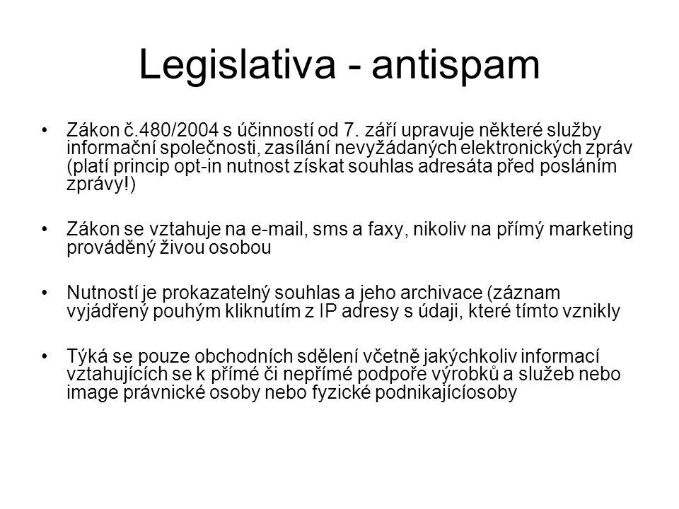 Legislativa - antispam
