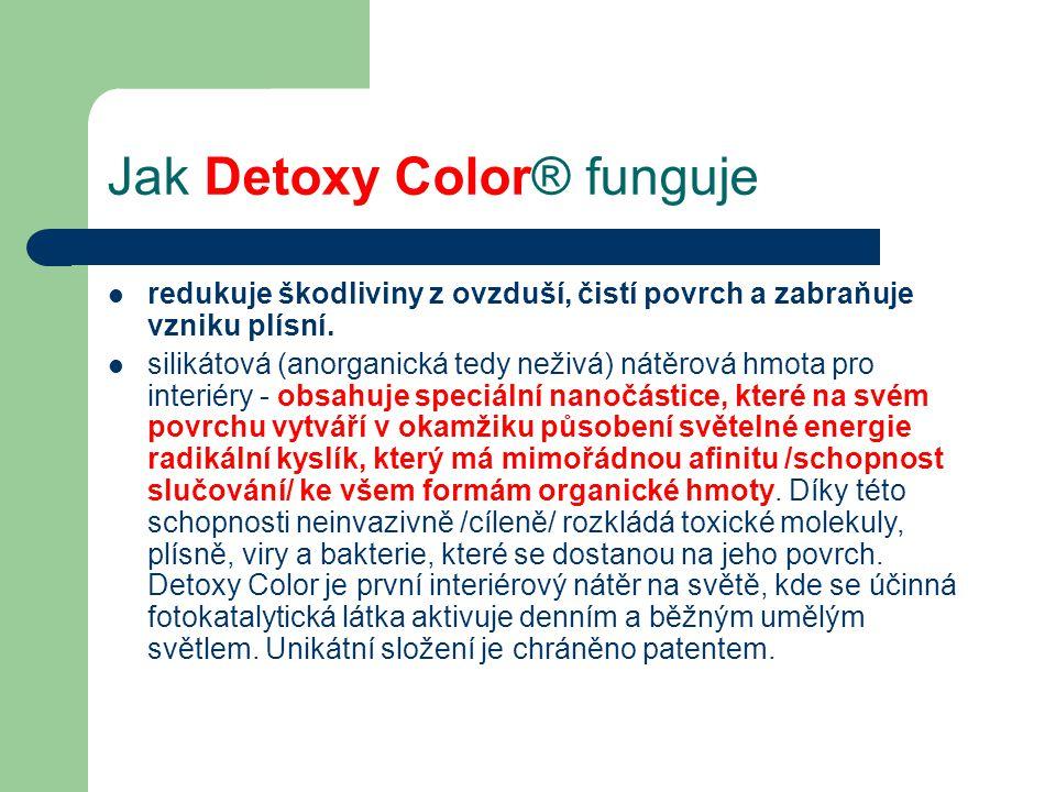 Jak Detoxy Color® funguje