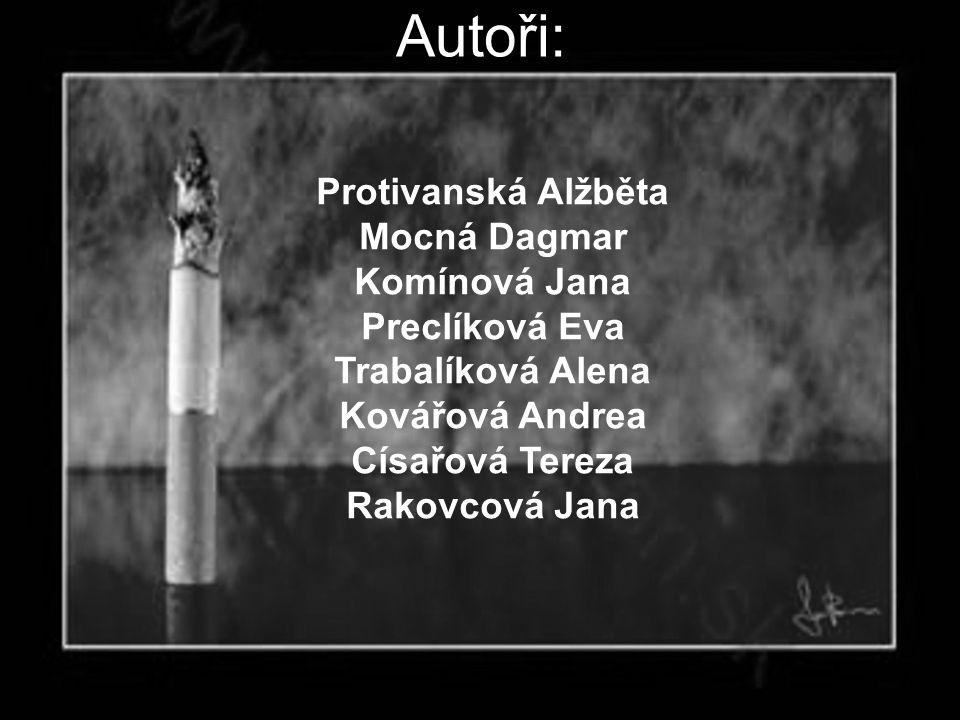 Autoři: Protivanská Alžběta Mocná Dagmar Komínová Jana Preclíková Eva