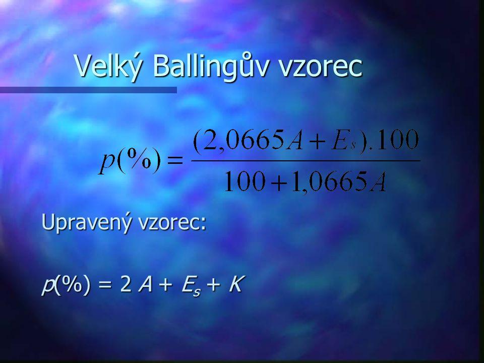 Velký Ballingův vzorec