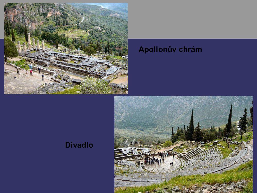 Apollonův chrám Divadlo