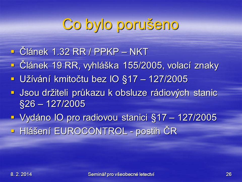 Seminář pro všeobecné letectví