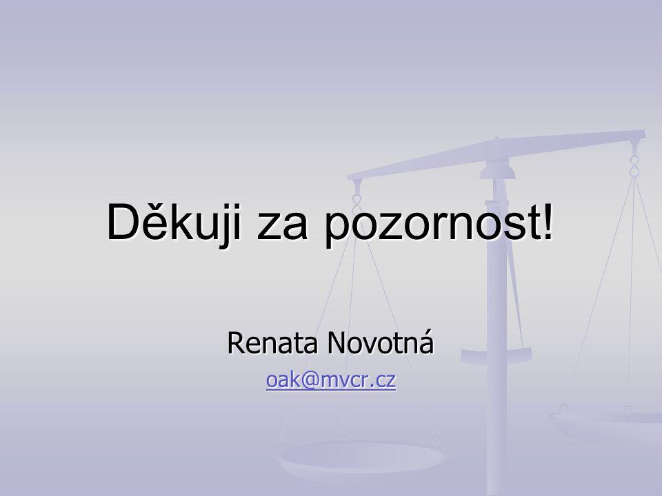 Renata Novotná oak@mvcr.cz