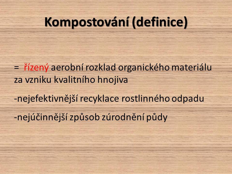 Kompostování (definice)