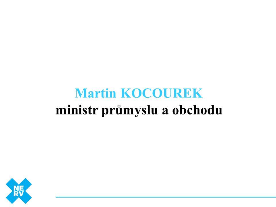 ministr průmyslu a obchodu