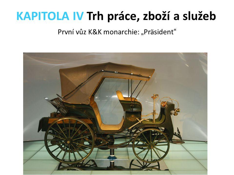 """První vůz K&K monarchie: """"Präsident"""