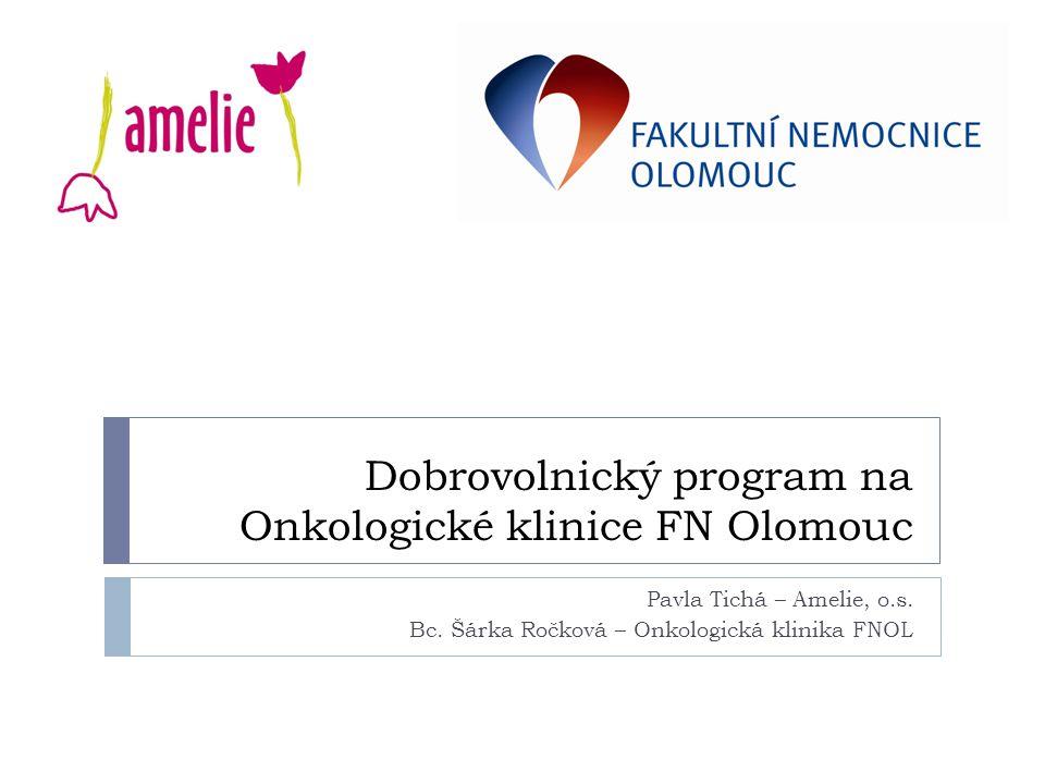 Dobrovolnický program na Onkologické klinice FN Olomouc