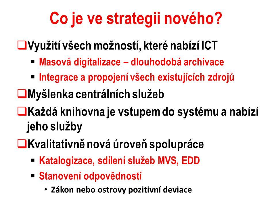 Co je ve strategii nového