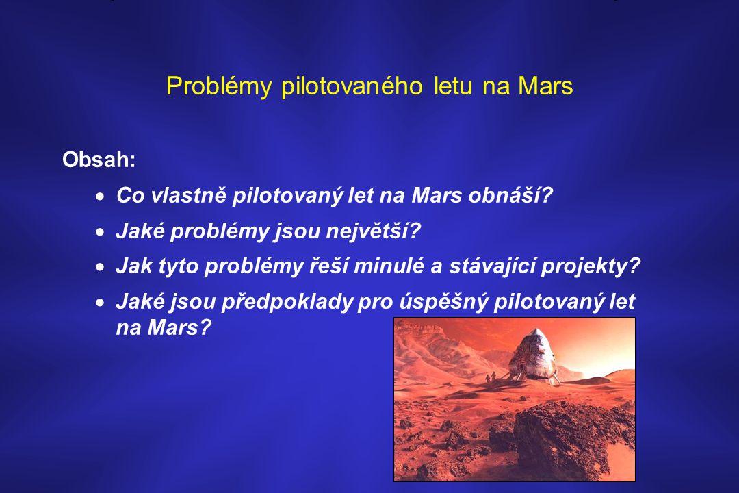 Problémy pilotovaného letu na Mars
