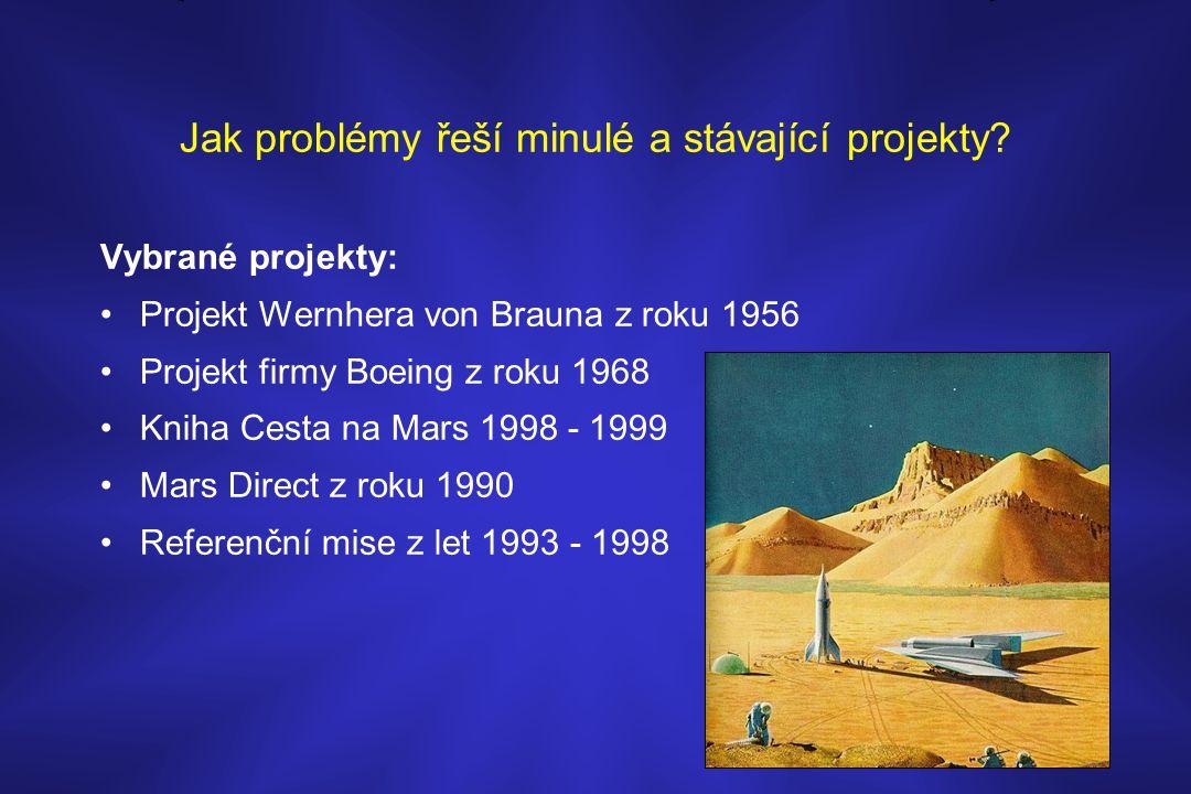 Jak problémy řeší minulé a stávající projekty