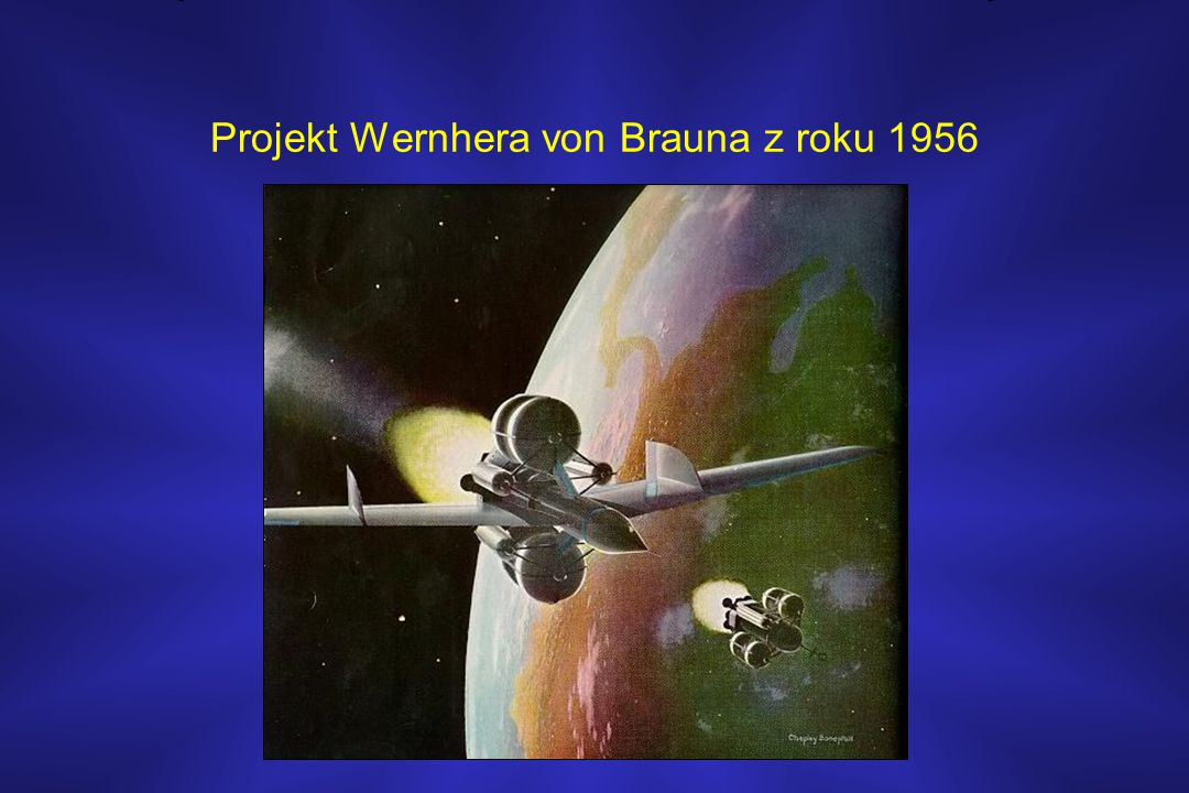 Projekt Wernhera von Brauna z roku 1956