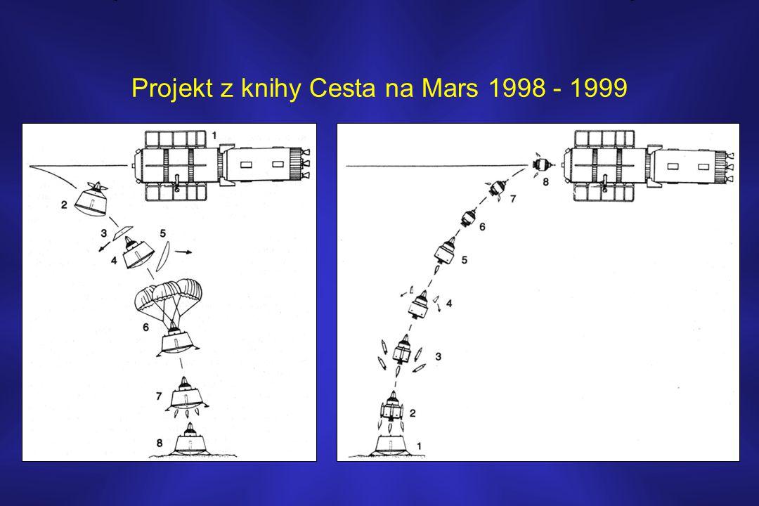 Projekt z knihy Cesta na Mars 1998 - 1999
