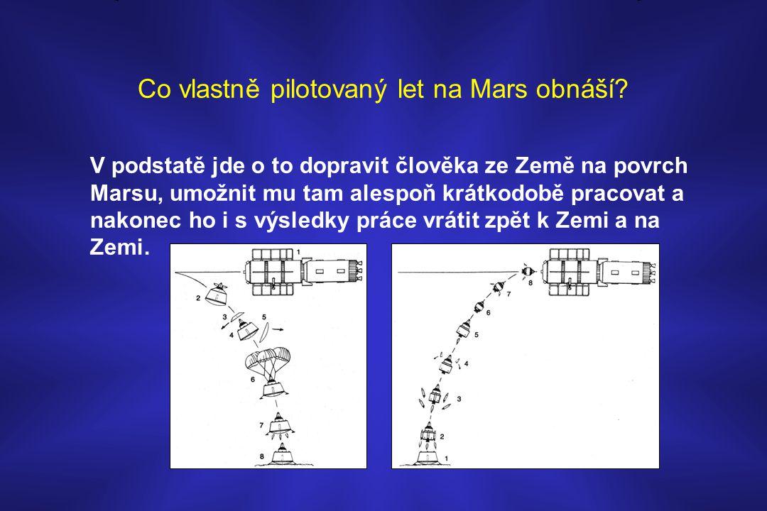 Co vlastně pilotovaný let na Mars obnáší