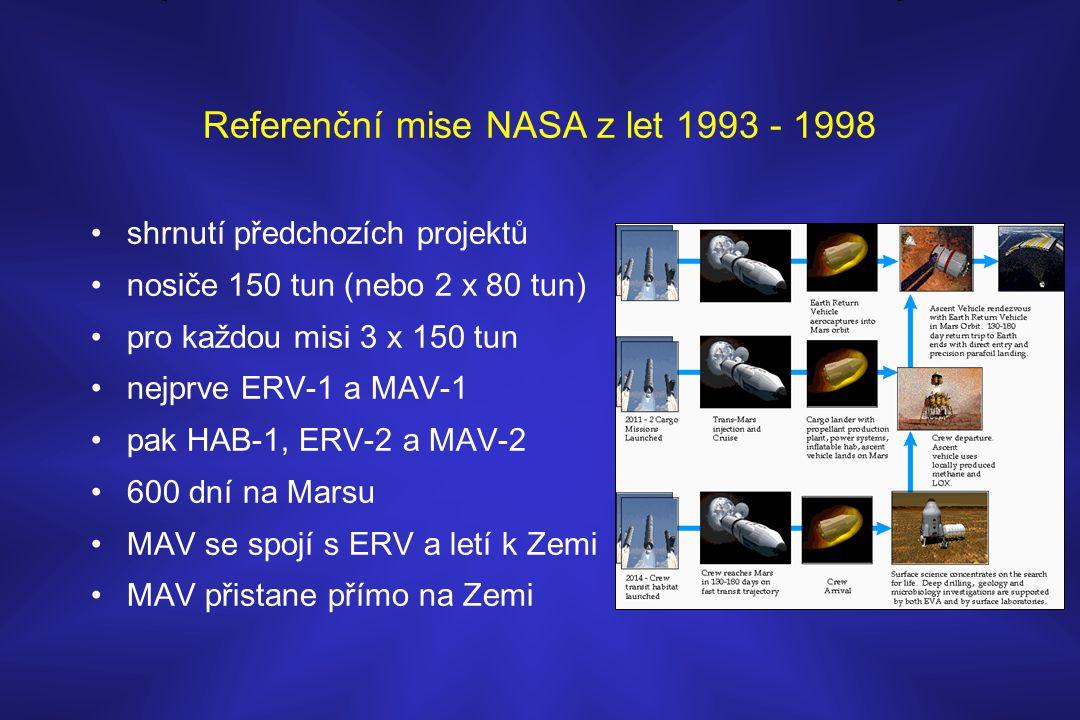 Referenční mise NASA z let 1993 - 1998