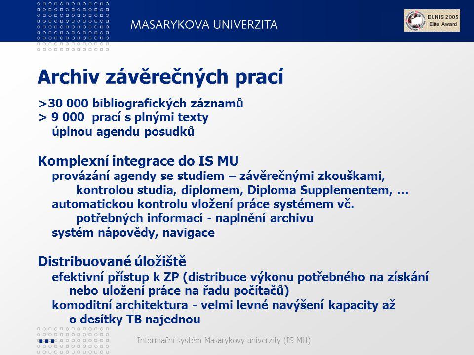 Archiv závěrečných prací