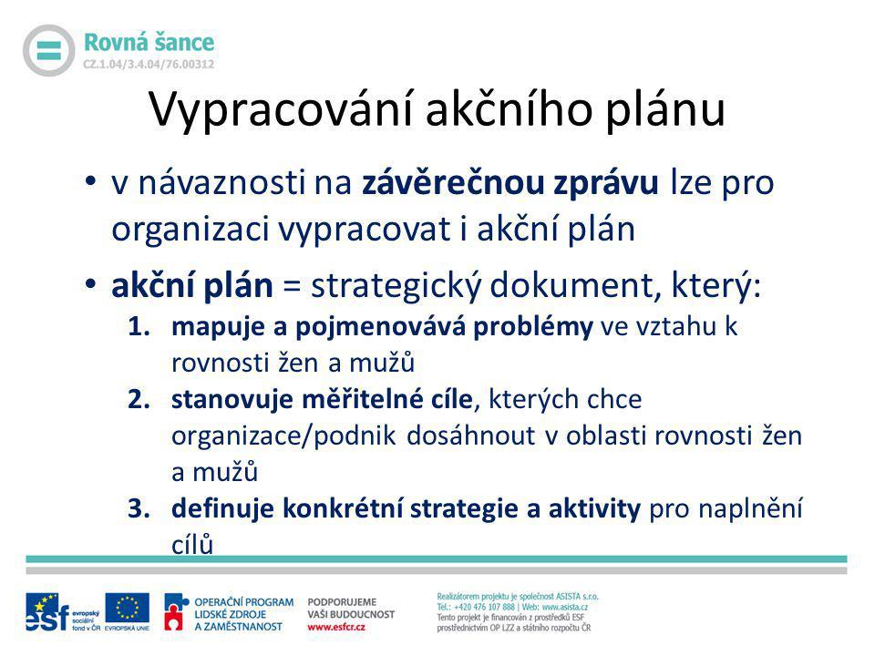 Vypracování akčního plánu
