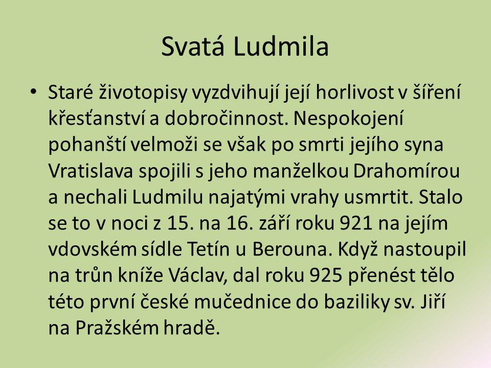 Svatá Ludmila