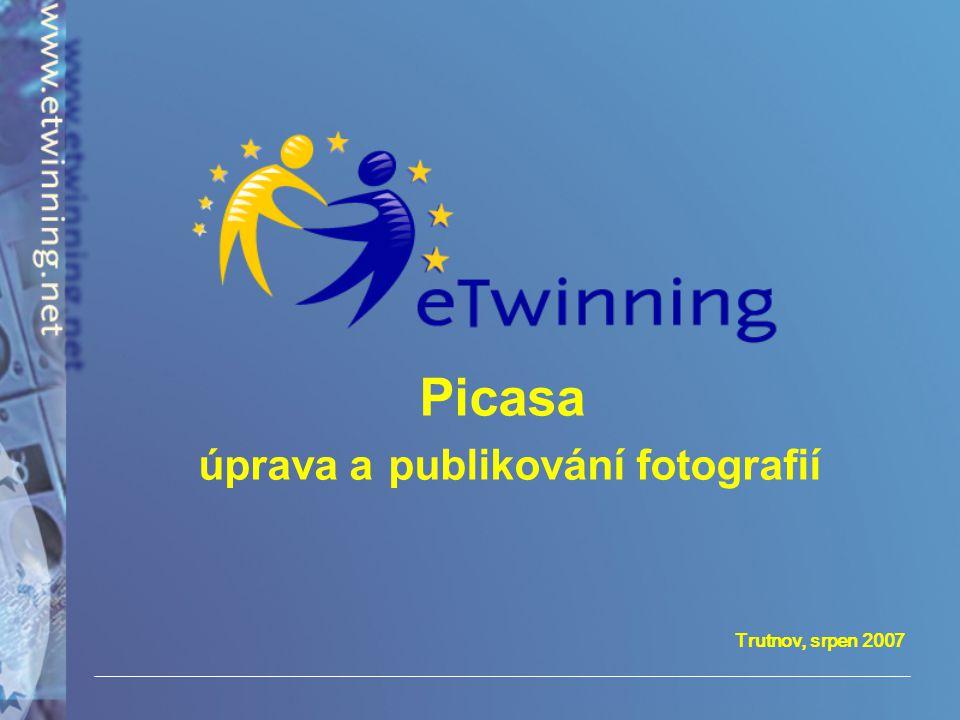 Picasa úprava a publikování fotografií