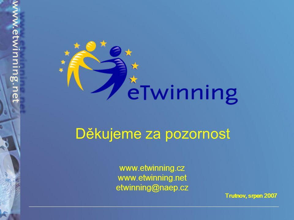 www.etwinning.cz www.etwinning.net etwinning@naep.cz
