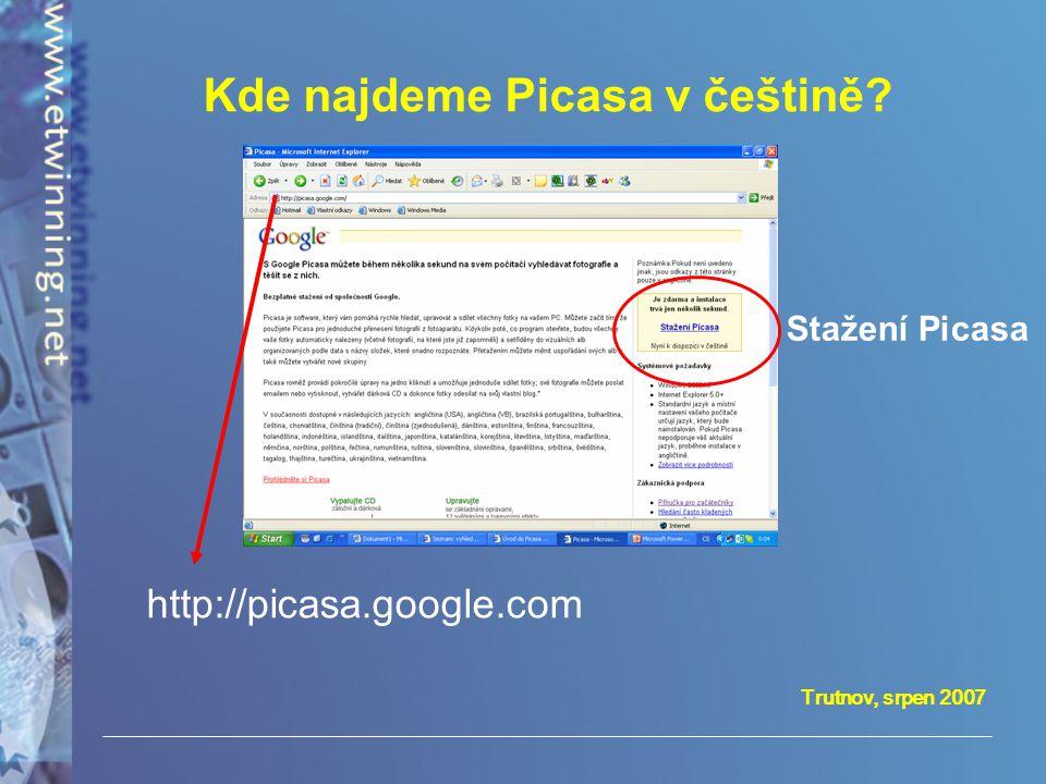 Kde najdeme Picasa v češtině