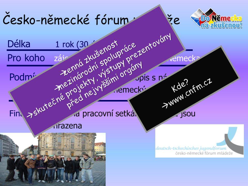 Česko-německé fórum mládeže