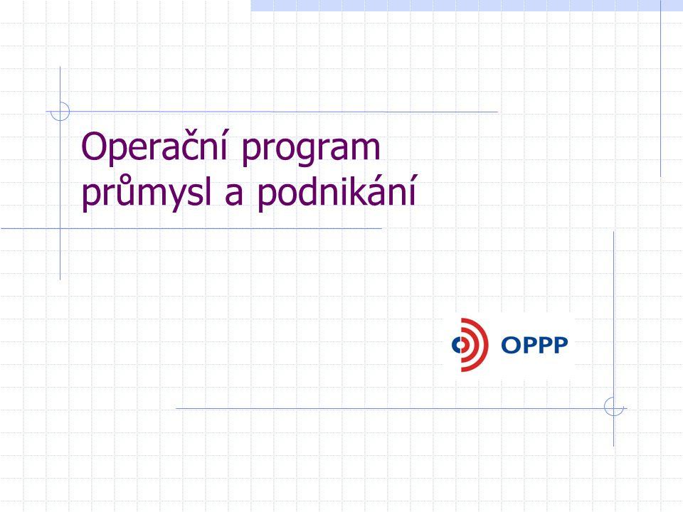 Operační program průmysl a podnikání