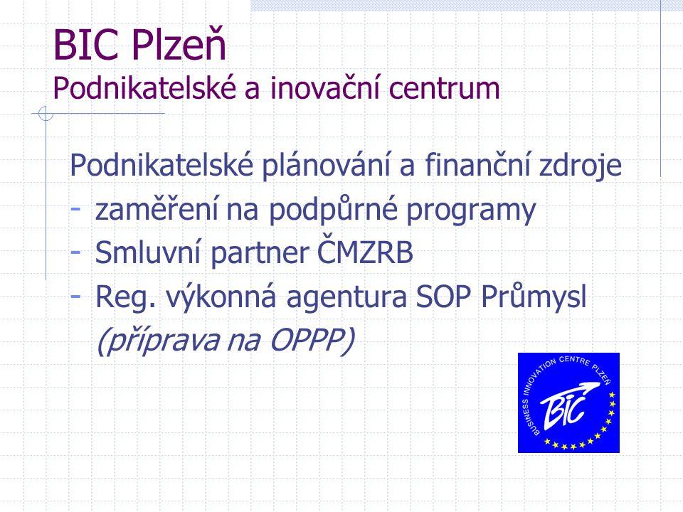BIC Plzeň Podnikatelské a inovační centrum