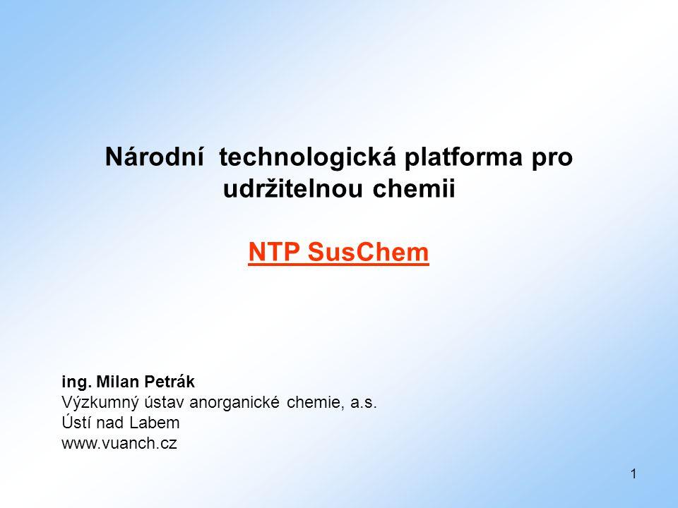 Národní technologická platforma pro udržitelnou chemii