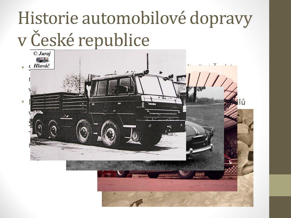Historie automobilové dopravy v České republice