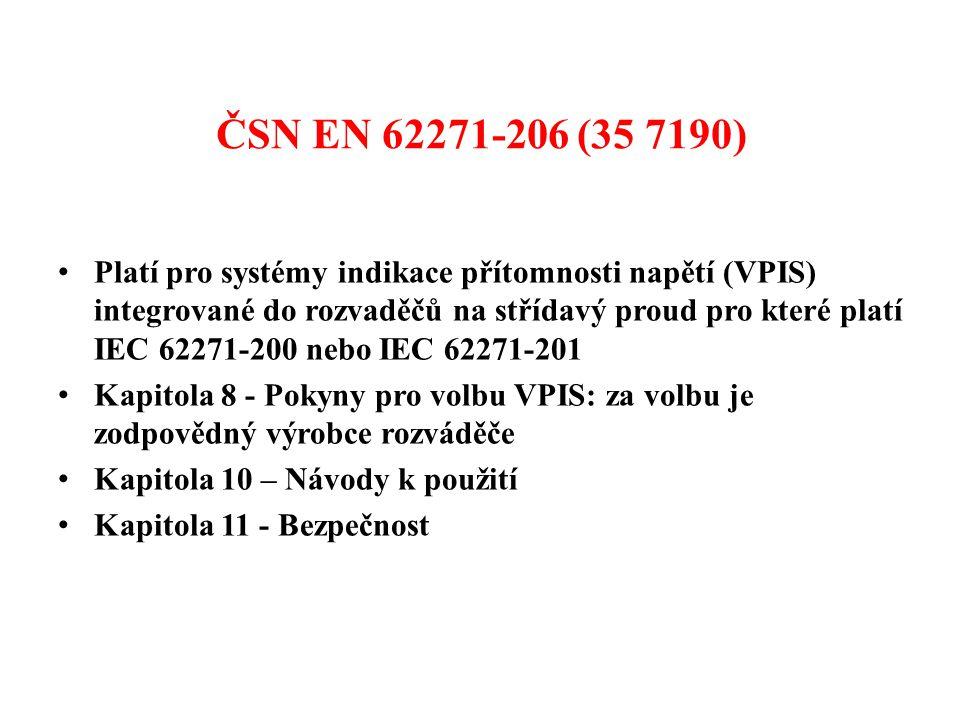 ČSN EN 62271-206 (35 7190)