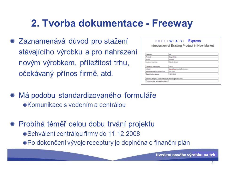 2. Tvorba dokumentace - Freeway