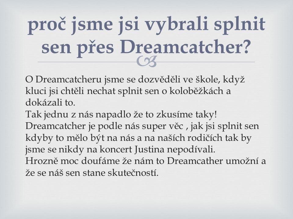 proč jsme jsi vybrali splnit sen přes Dreamcatcher