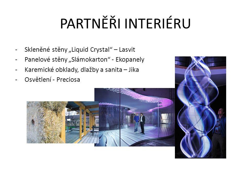 """PARTNĚŘI INTERIÉRU Skleněné stěny """"Liquid Crystal – Lasvit"""