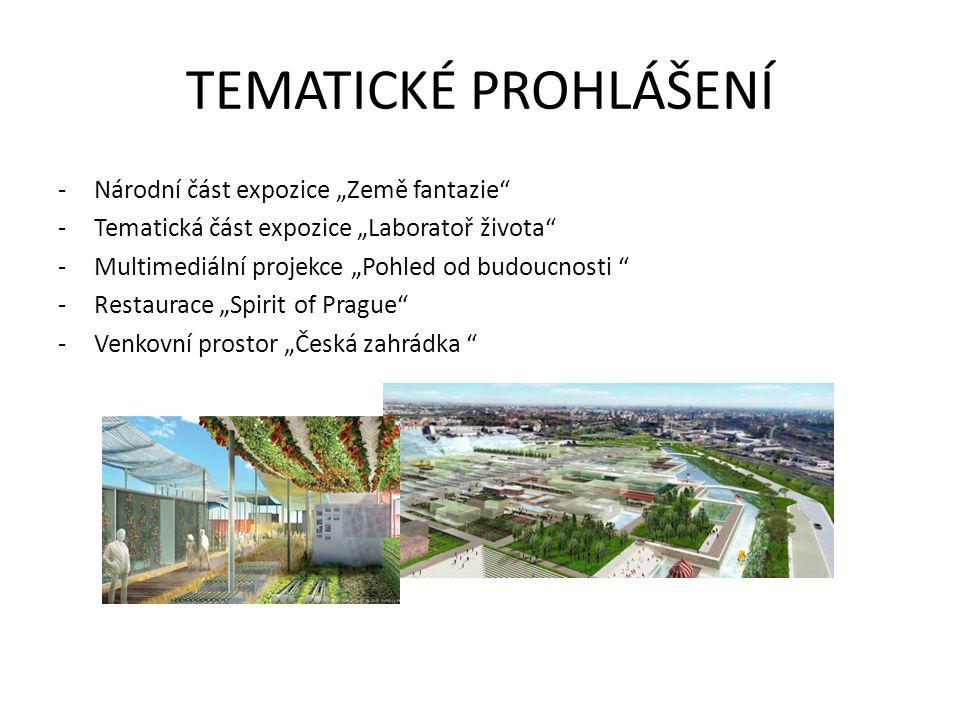 """TEMATICKÉ PROHLÁŠENÍ Národní část expozice """"Země fantazie"""