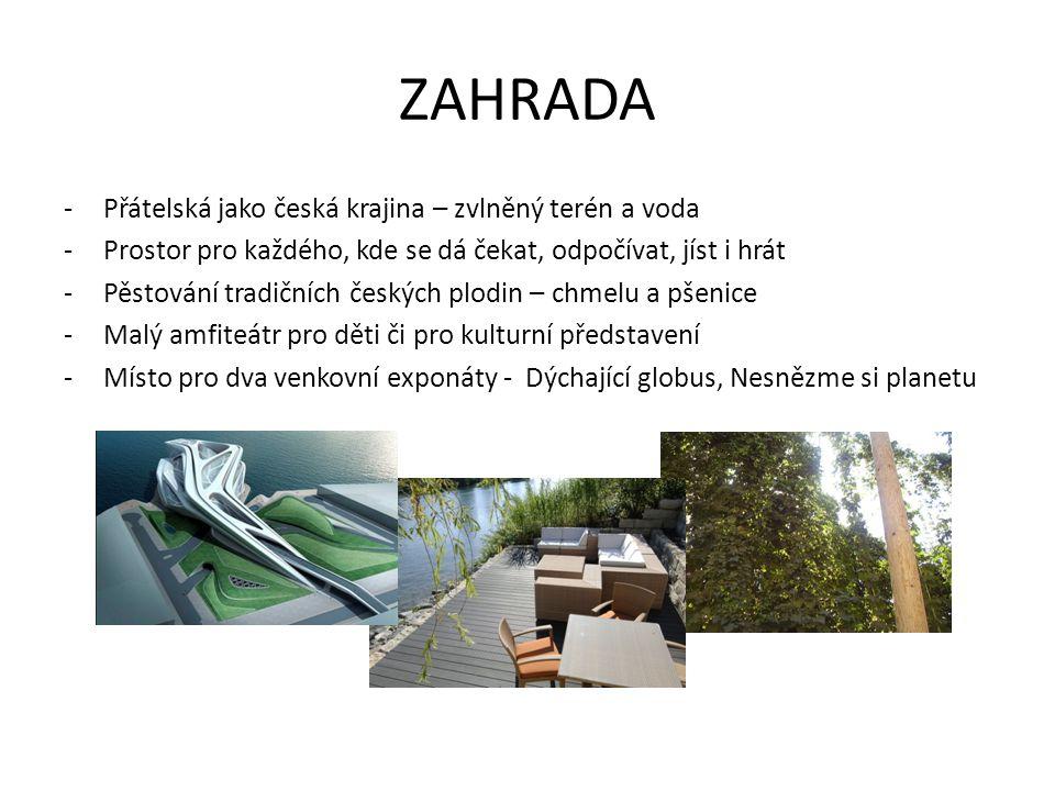 ZAHRADA Přátelská jako česká krajina – zvlněný terén a voda