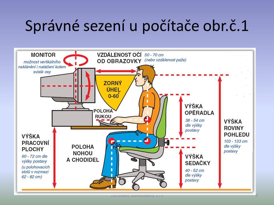 Správné sezení u počítače obr.č.1