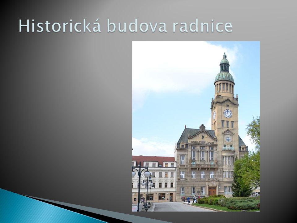 Historická budova radnice