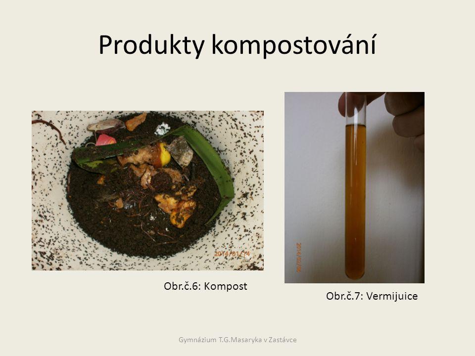 Produkty kompostování